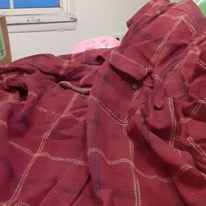 Men's flannel shirt heavy
